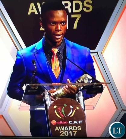 Zambia national team player Patson Daka
