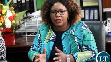 Chief Government Spokesperson, Hon. Dora Siliya, MP