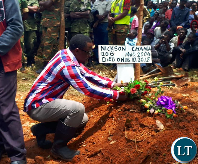 The Burial of six children who drowned in POSA Dam