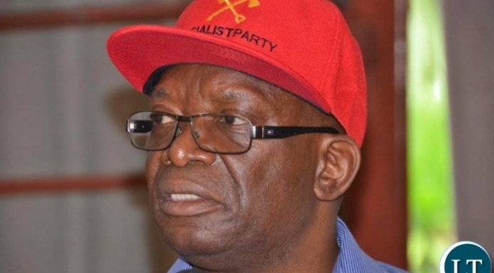 Socialist Party interim General Secretary Cosmas Dr Musumali