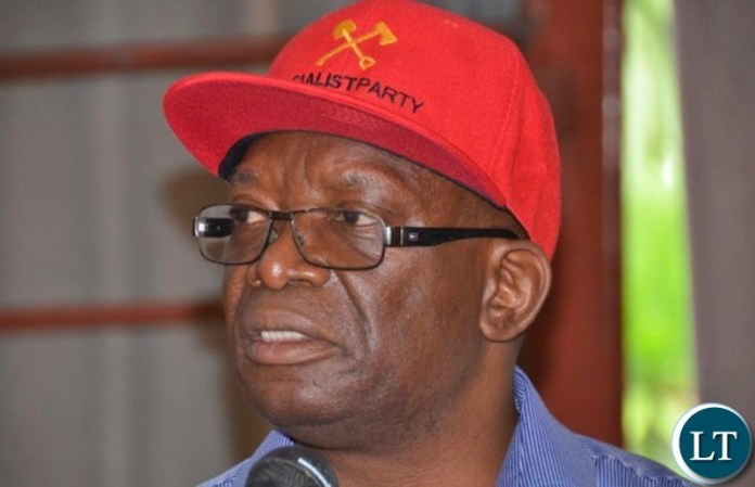 Socialist Party interim General Secretary Cosmas Dr Musumali