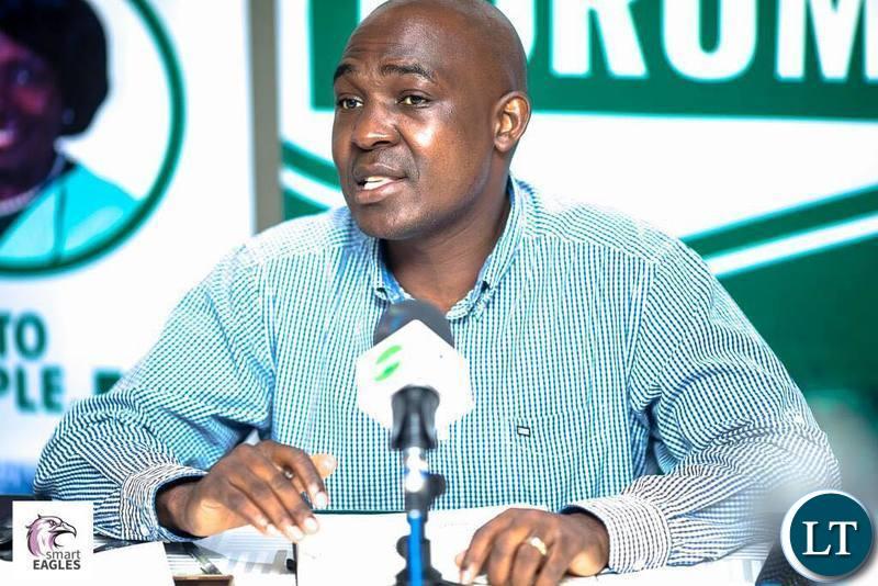 Copperbelt Province Minister Japhen Mwakalombe