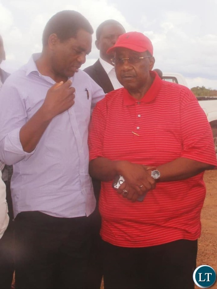HH and GBM at a correctional facility to visit Nevers Mumba