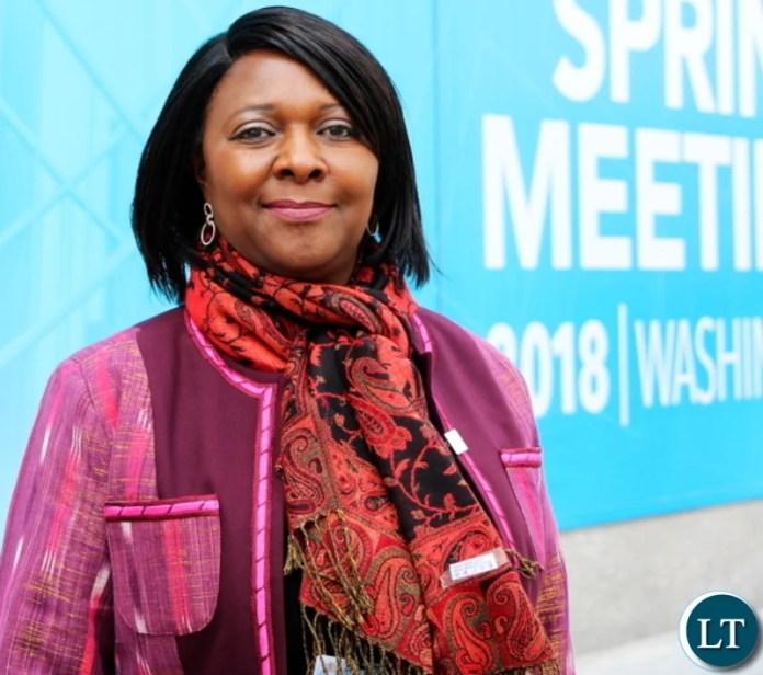 Minister of Finance Margaret Mwanakatwe