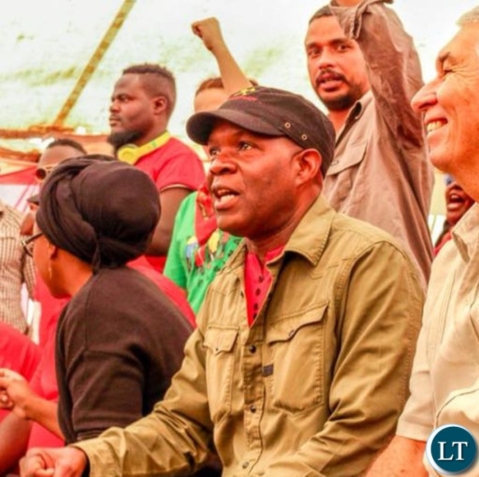SOCIALIST Party presidential candidate Dr Fred M'membe