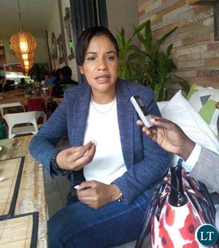 Chilanga parliamentary candidate Charmaine Musonda
