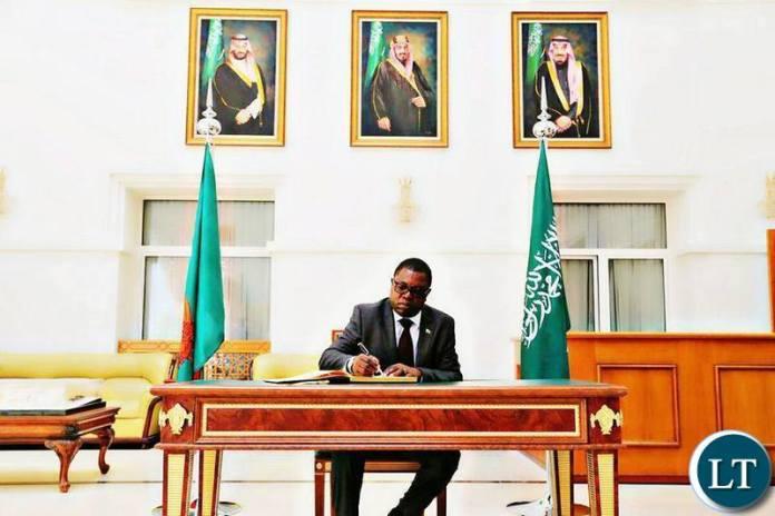 Minister of Foreign Affairs of the Republic of Zambia, Hon. Joseph Malanji, MP