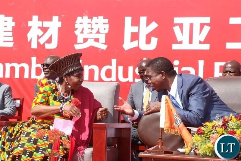 Zambia : China National Building Material-Zambia plant
