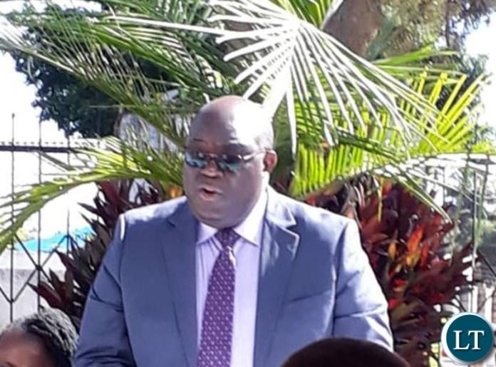 TIZ President Reuben Lifuka