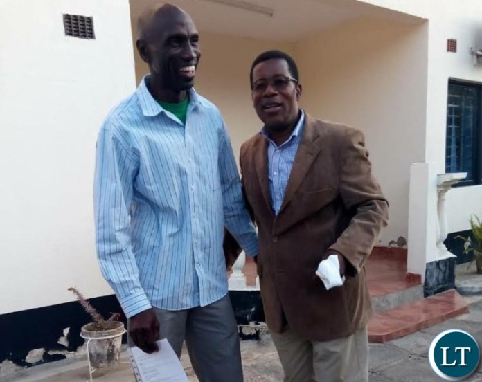 Matete and Mpondela reconciling