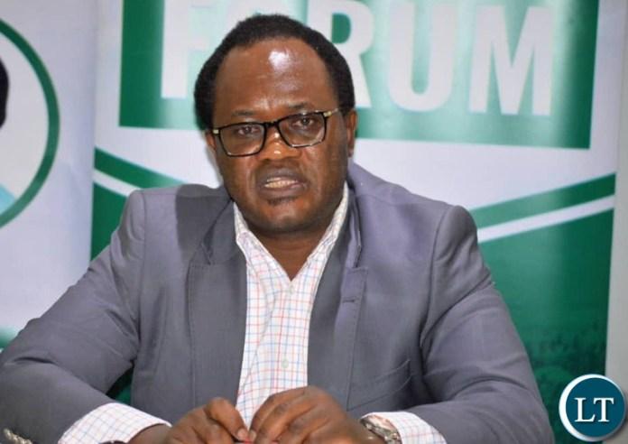 PF Chairperson for legal affairs Brian Mundubile