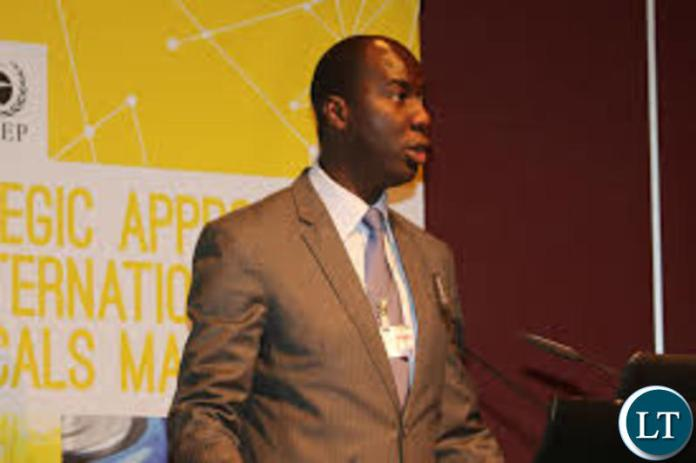 Labour and Social Security Permanent Secretary (PS), Barnaby Mulenga