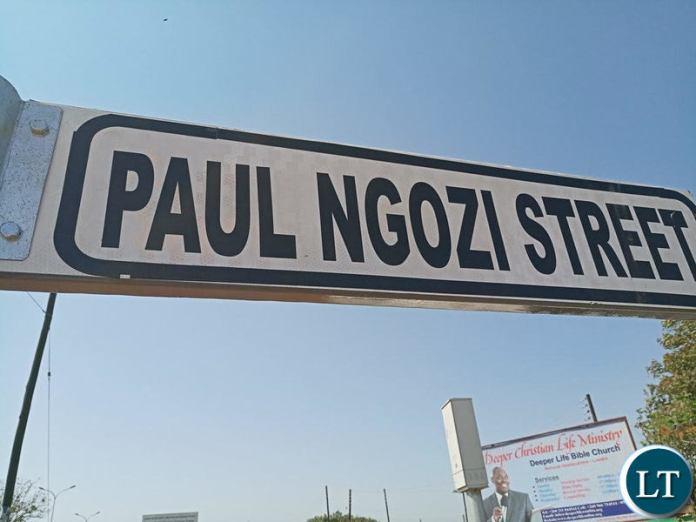 Paul Ngozi Street