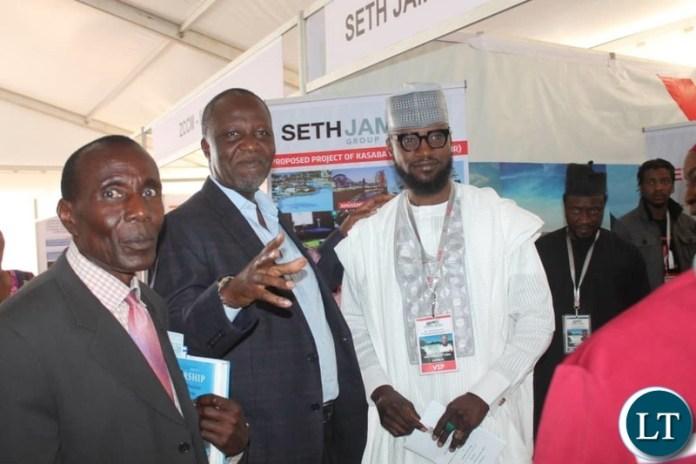 Mutati with Seth James Group of Companies President