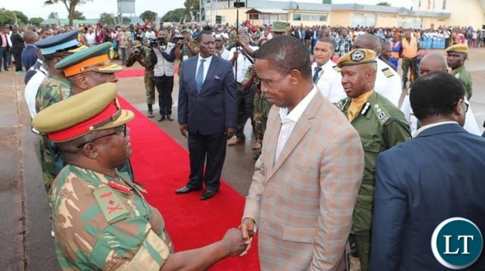 The Head of State is in Northern Province to officiate at the World War 1 Centenary commemoration and Northern Expo being held in Kasama and Mbala.  Friday, 23 November, 2018- Pictures by Eddie Mwanaleza/ State House ©2018