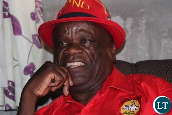 United Party for National Development (UPND) Secretary General Stephen Katuka