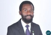 Zambia National Students Union President Misheck Kakonde