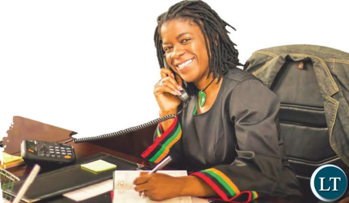 Zambia's High Commissioner to Kenya Brenda Muntemba