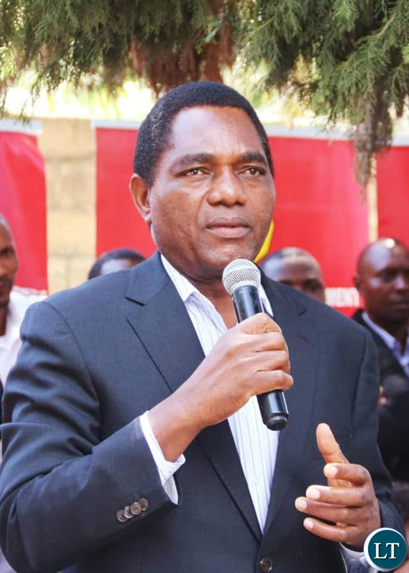 Zambia : HH challenges President Lungu to inform the nation