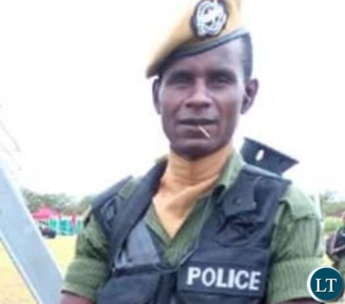 Constable Jackson Mwanza