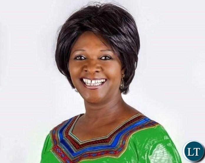 Zambia's Finance Minister Margaret Mwanakatwe