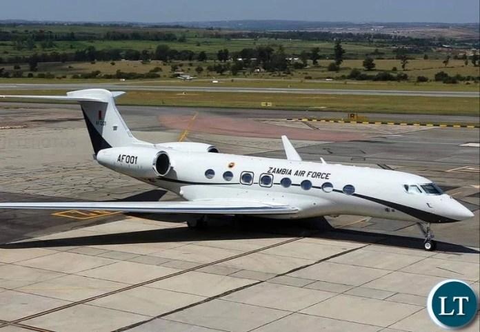 The G650 Gulfstream Ferrari private jet believed to cost around US$65 million