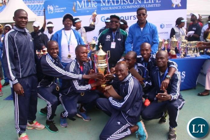 Team ZAF which emerge the overall winner.
