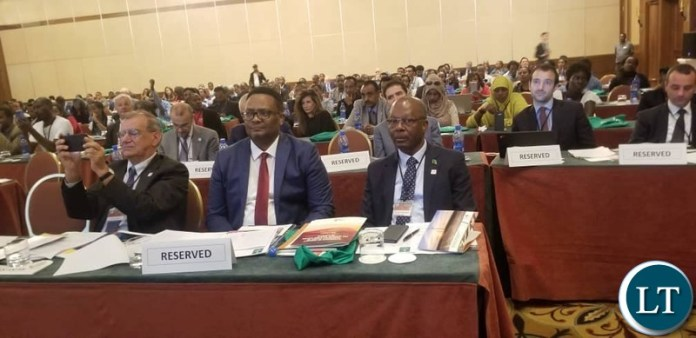Minister of Energy Hon. Mathew Nkhuwa is Addis Ababa, Ethiopia investment Conference organised Renewable Energy for Africa Solutions (RES4AFRICA).