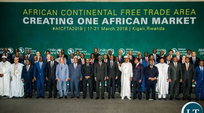 the agreement to establish the African Continental Free Trade Area