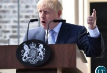 UK's New Prime Minister Boris Johnson