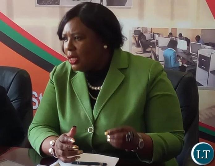 Chief Government Spokesperson Hon. Dora Siliya