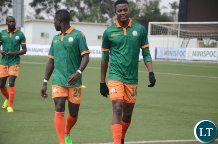Green Eagles players warming up for Thursday's game against Proline of Uganda at the 2019 CECAFA Club Cup.Eagles beat Proline 2-1. Pic courtesy of Green Eagles FC Media