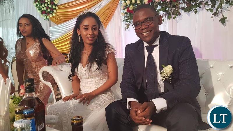 Zambia : Chilufya Tayali weds in Ethiopia