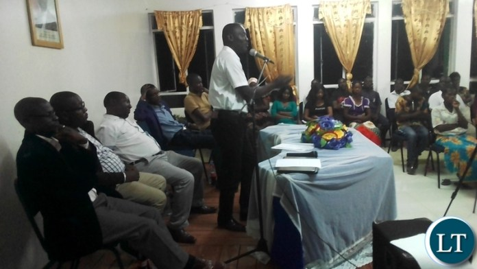 Public Forum organised by the Young African Leaders Initiative (YALI) at Samfya Town Council Chambers