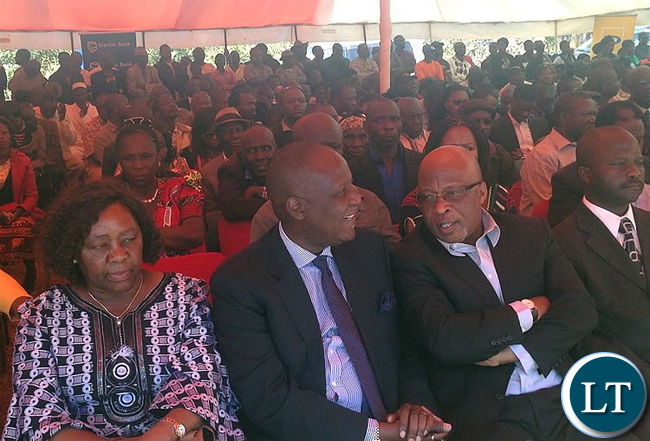 Nevers Mumba and Felix Mutati