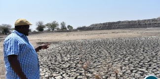 Minister Chiteme inspect Climate Change effects