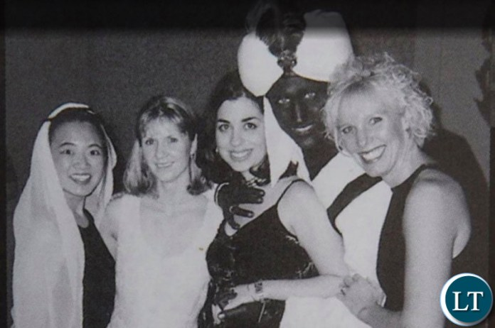 Canadia Prime Minister Justine Trudeau wearing a Blackface costume to a party