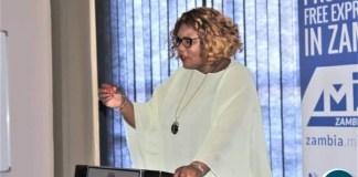 Minister Dora Siliya