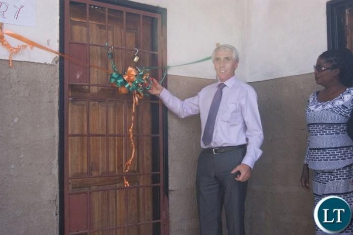 Irish Ambassador to Zambia Seamuso Grady