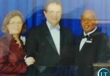 Nevers Mumba with Reinhard Bonnke