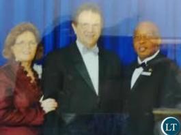 Nevers Mumba with Reinhard Bonnke