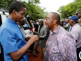 President Lungu with GBM in Kasama