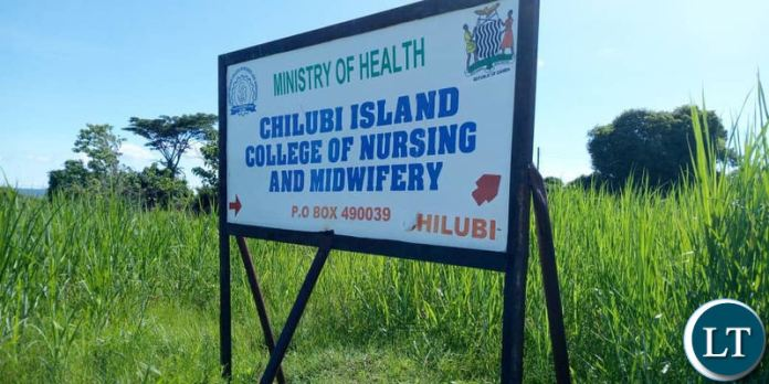 Chilubi College Nursing and Midwifery which has been turned into a District Hospital