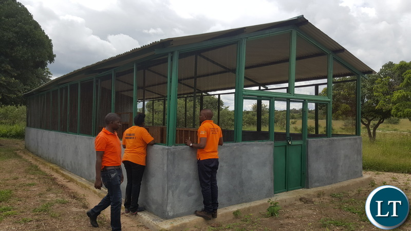 a poultry house in Munyenze ward