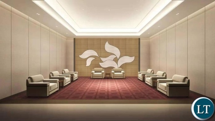 The  Artist Impression of the  New Conference Center: A gift from China