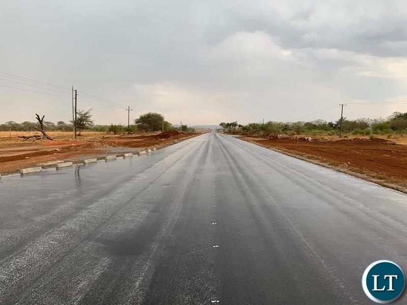 The Kafue Mazabuka Road