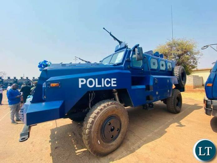 The Anti-Riot Armaoured vehicle