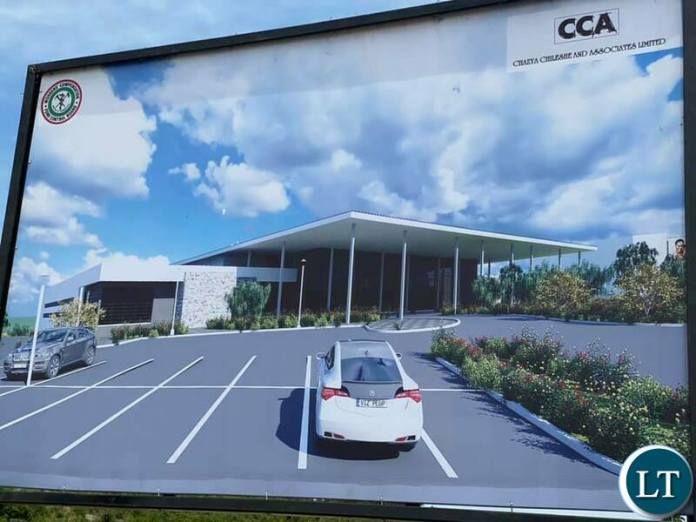 Artist Impression of the  International Convention Centre, 3 star Hotel and Shopping Mall