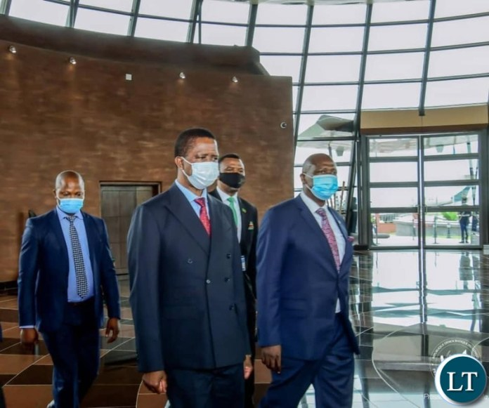 President Edgar Lungu  held bilateral talks with his Democratic Republic of Congo (DRC) counterpart Felix Tshisekedi in that country's capital Kinshasa.