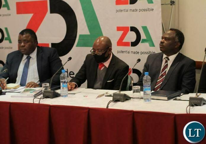 The Zambia Development Agency (ZDA) media briefing